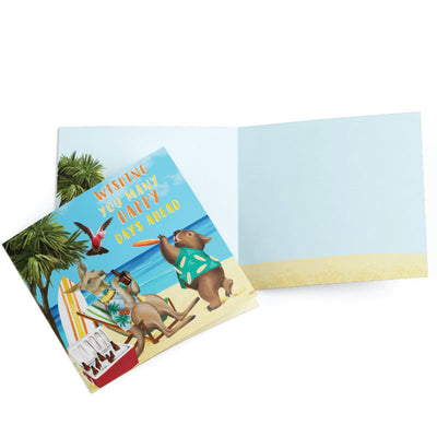 greeting card happy days ahead inside