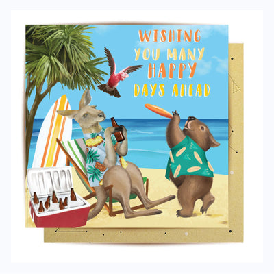 greeting card happy days ahead