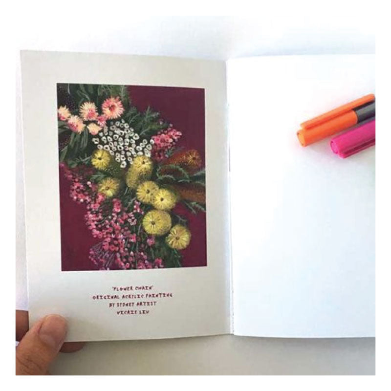Flower-Chain-Notebook-Studio-Ka-Ka