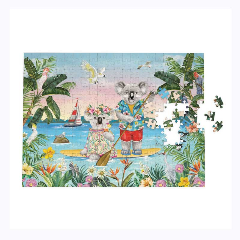 jigsaw puzzle lovers paddle