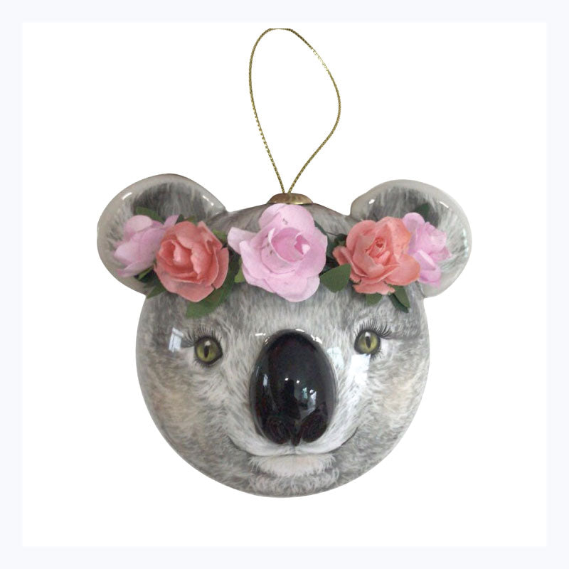 koala bauble 3D holly