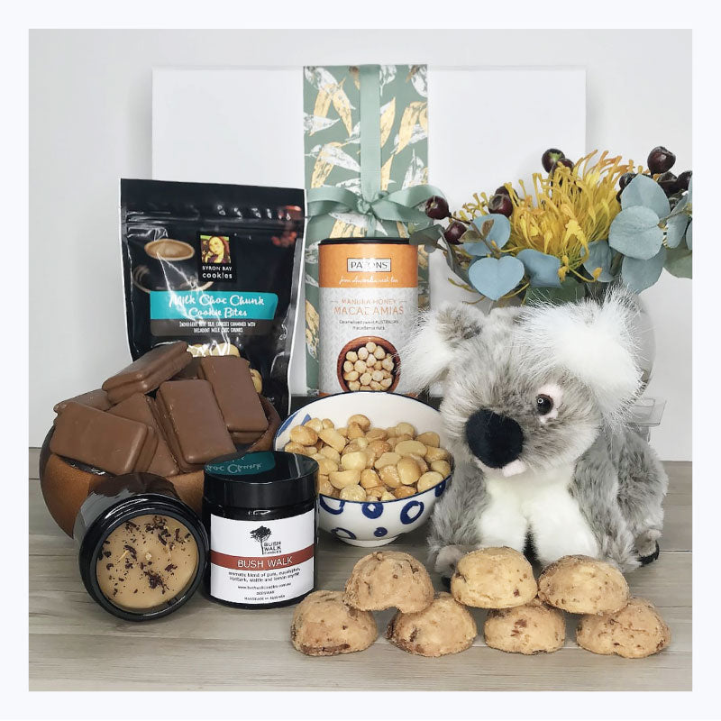 koala love from down under gift hamper australia