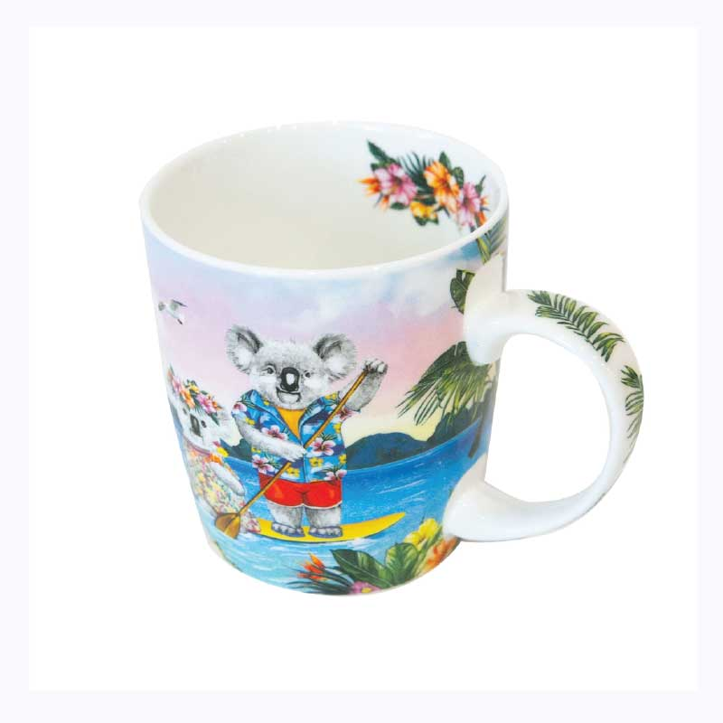 koala mug sunshine lovers paddle