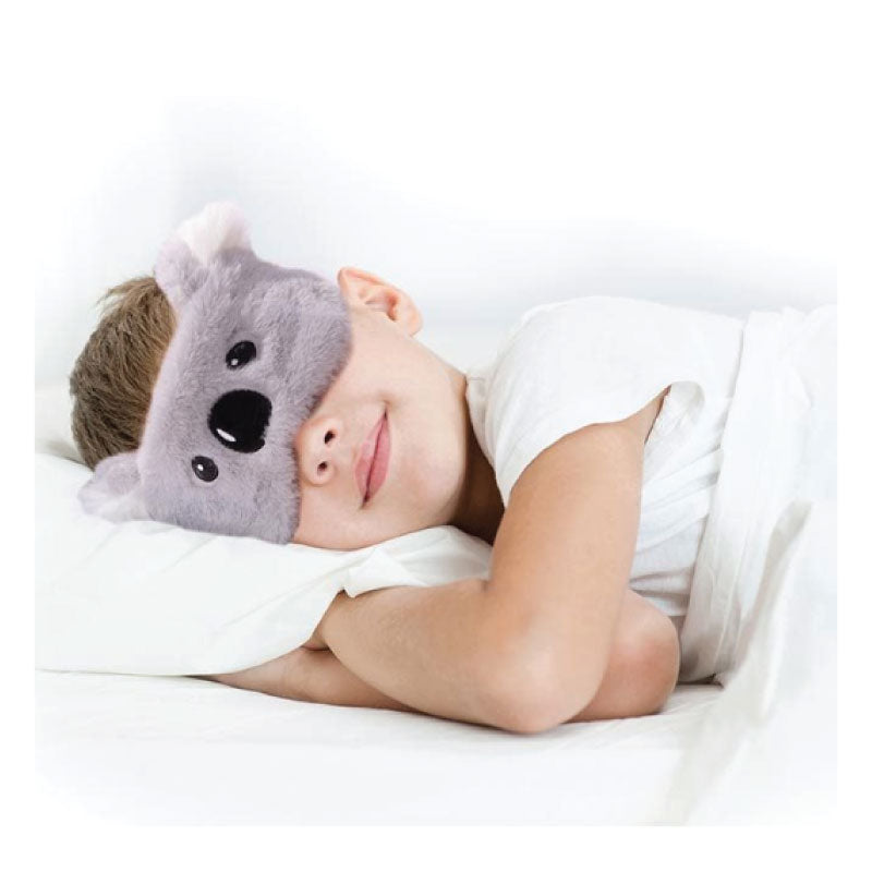 Koala mask eyes open
