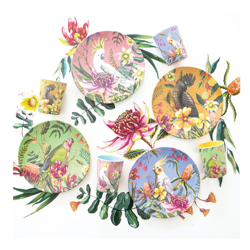 Gift Set - Floral Paradiso Cup and Plate Set