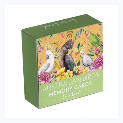 Australian Birds Memory Game Adult