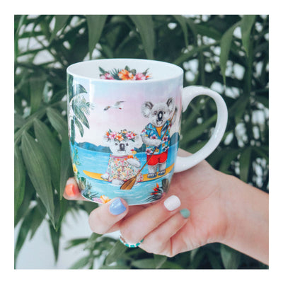 mug koala lovers paddle