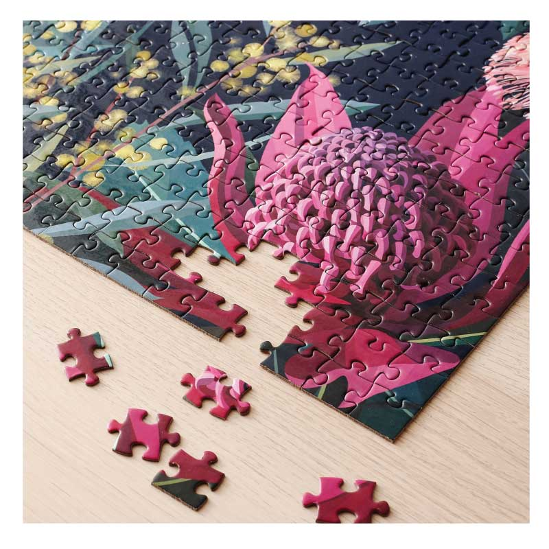 Australian Jigsaw Puzzle – Native Flowers