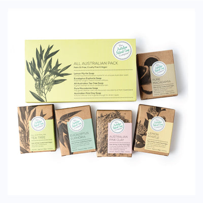 natural soap australian gift pack 5 soaps