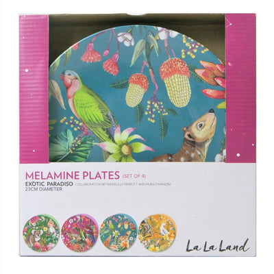 Plate Set- Exotic Paradiso
