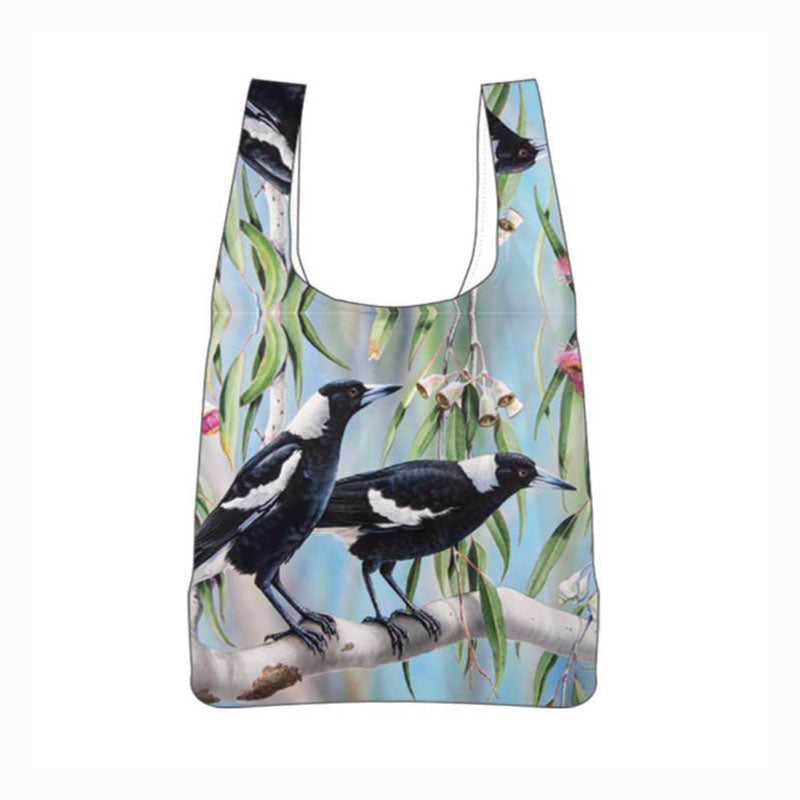 reusable shopper bag magpies
