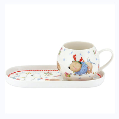 robert wombat mug and plate set ashdene
