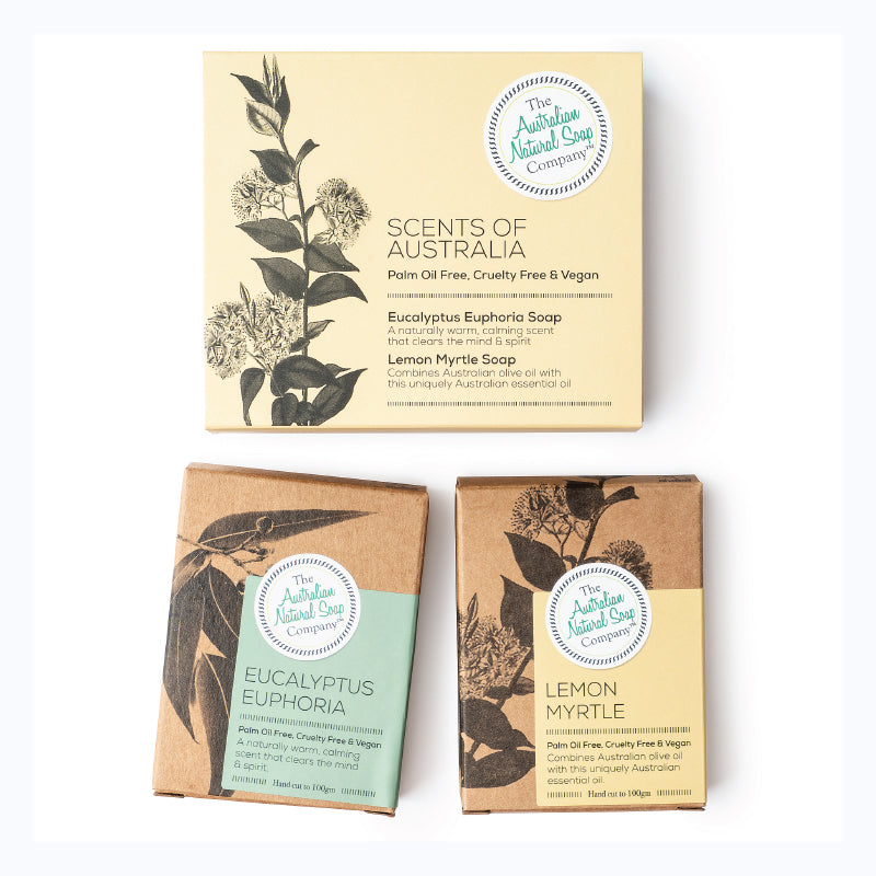 gift pack scents of australia soap