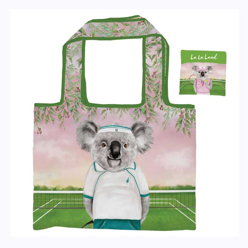 Foldable Shopper Bag Aussie Aussie Aussie Tennis