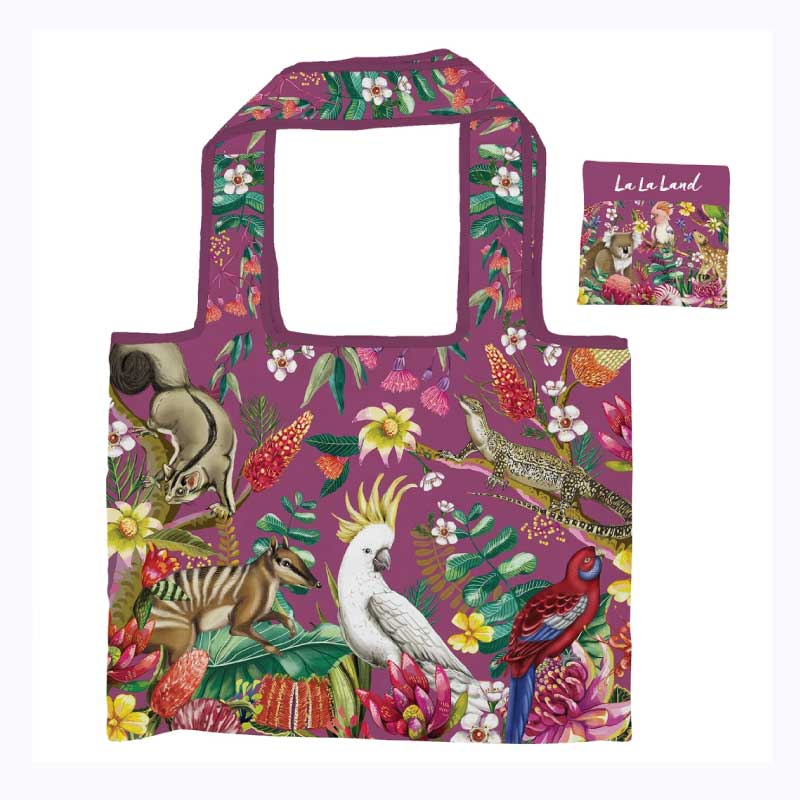 Foldable Shopper Bag Exotic Paradiso