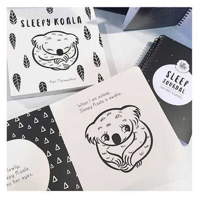 sleepy-koala-inside-book