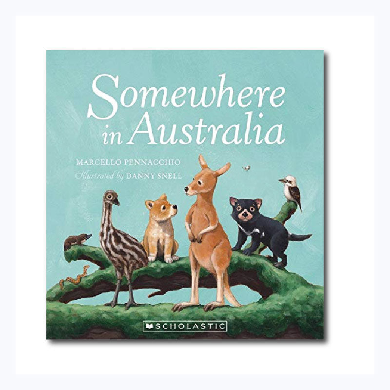 somewhere in australia childrens counting book