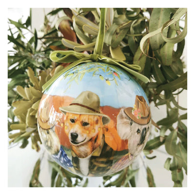 large australian outback bauble