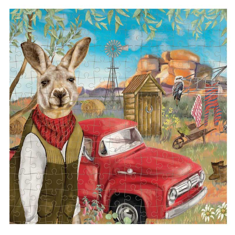Jigsaw Puzzle – Sunny Outback Mischief