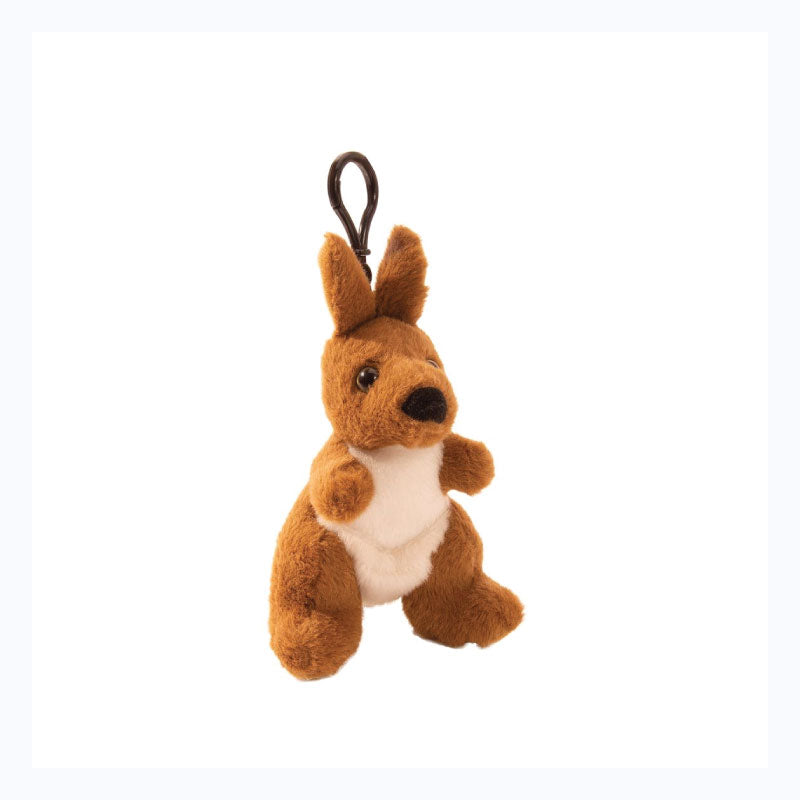 talking kangaroo keychain
