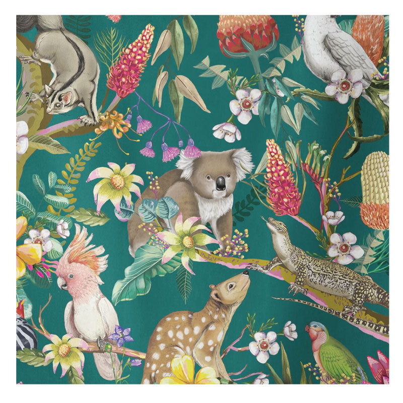 tea towel exotic paradiso