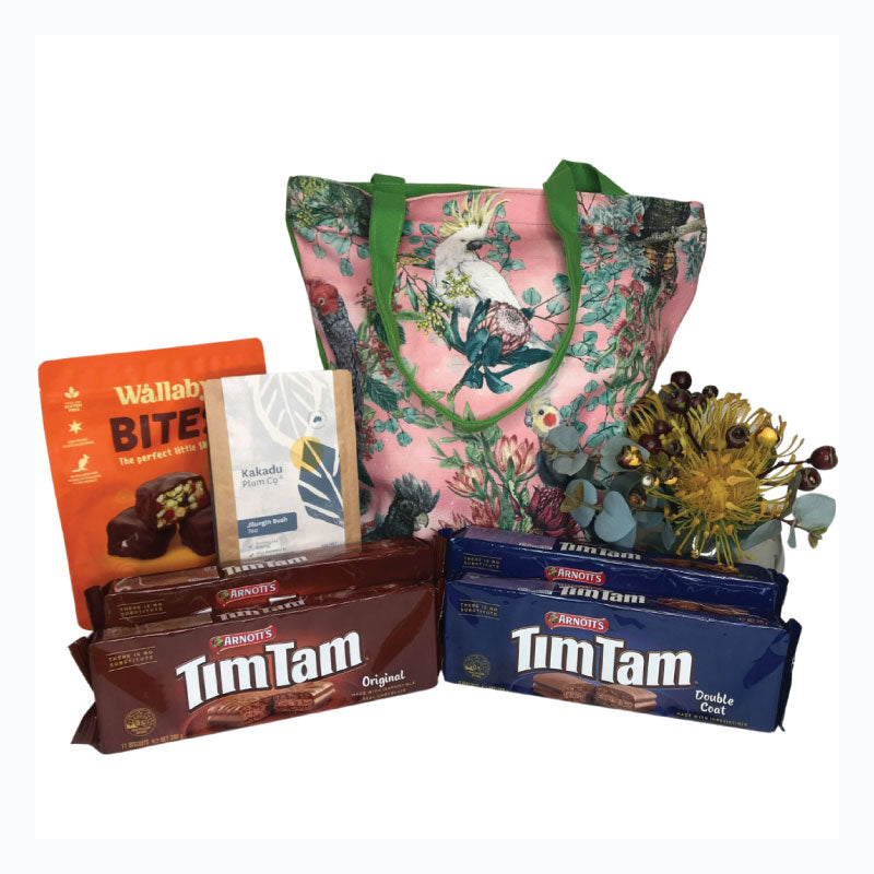 tim tam bush bag birds of australia