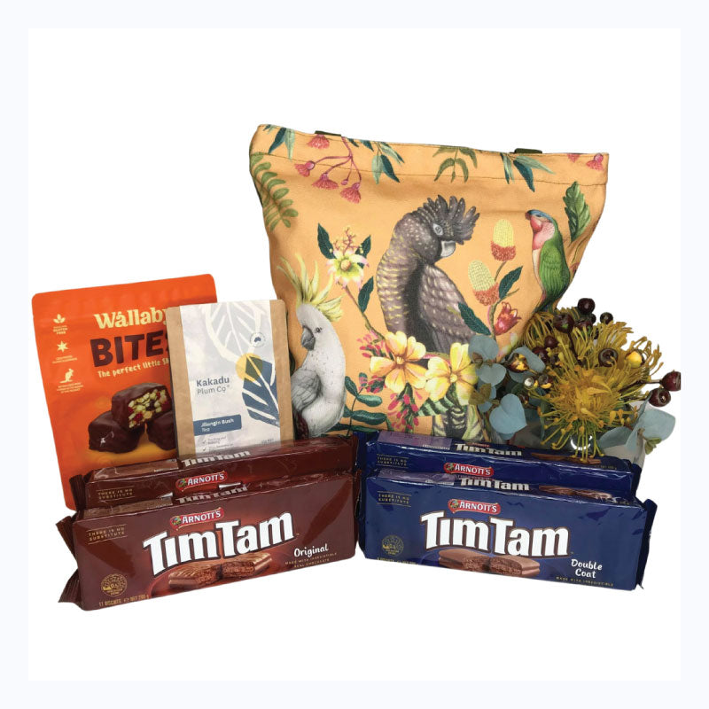 tim tam bush bag floral paradiso