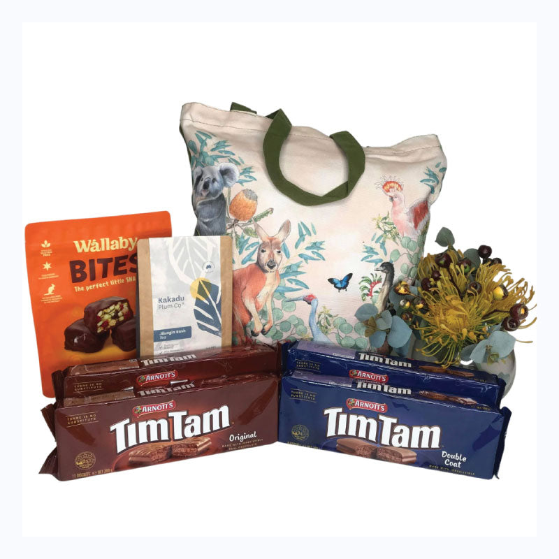 tim tam bush bag love from down under