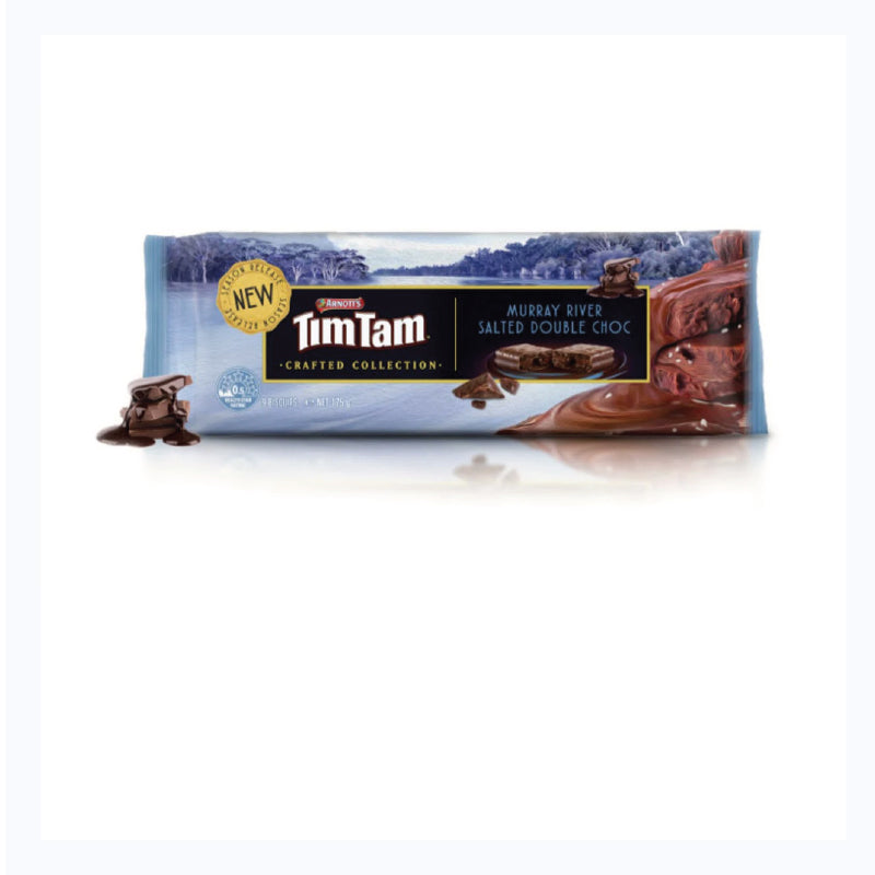 tim tam crafted collection murray river salt and double choc