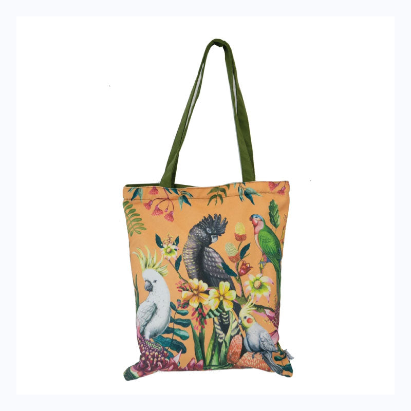 tote bag floral paradiso by la la land