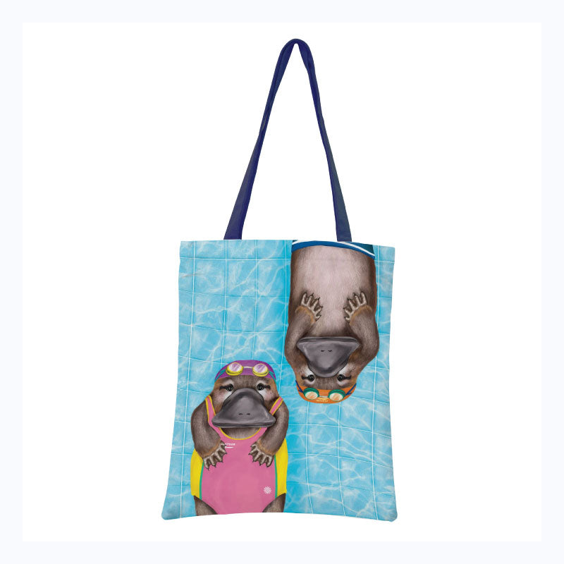 Tote Bag - Aussie Aussie Aussie Swimming
