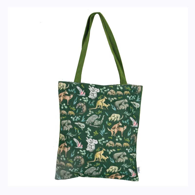 Tote Bag - Wild Fur You Australiana