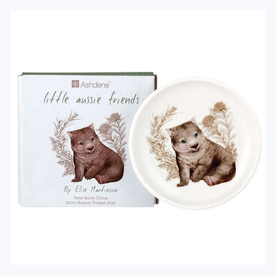 Trinket Dish Wombat Little Aussie Friends Collection