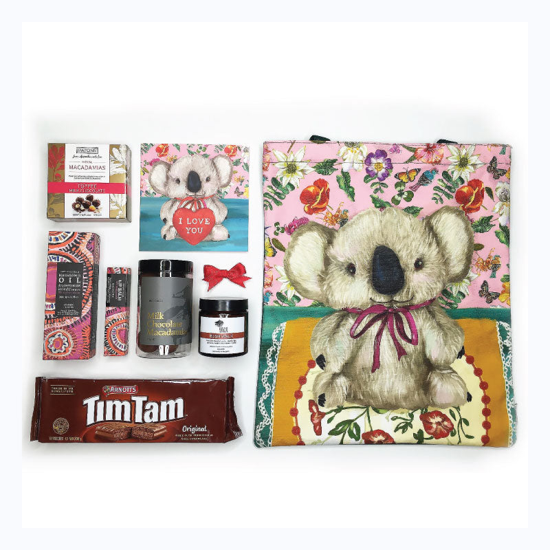 valentines gift set koala love from down under