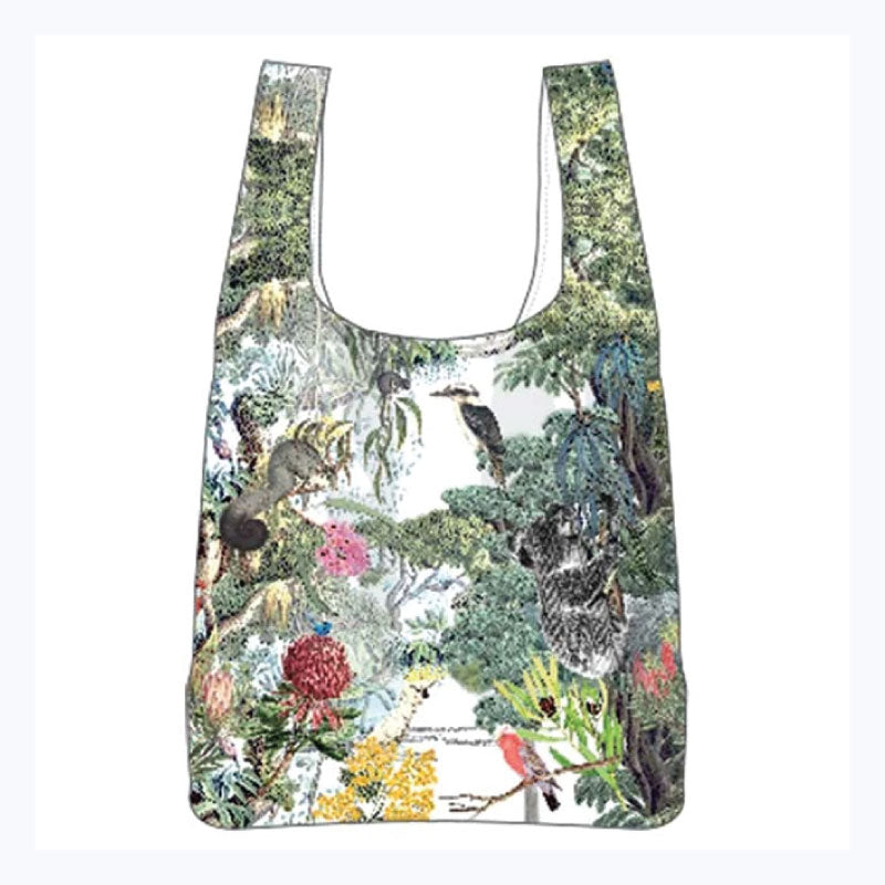 wildlife australia reuseable shopper bag by ashdene