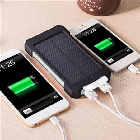 Solar Power Bank 6000-7000mAh Waterproof External Battery