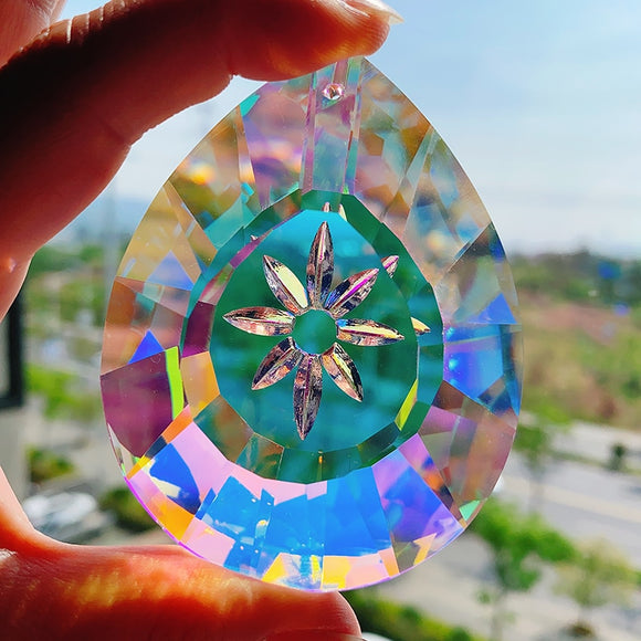 Hanging Crystal Rainbow Suncatcher (76mm)