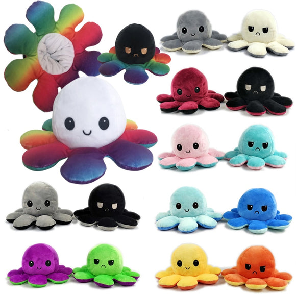 Reversible Octopus Plushies