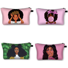 Load image into Gallery viewer, BOGO Cosmetic Toiletry Bag - Support Social Justice