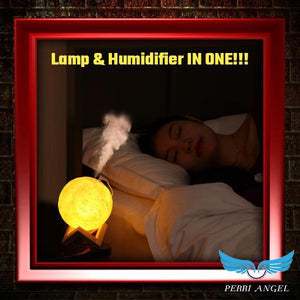 Touch 3D Lamp Humidifier