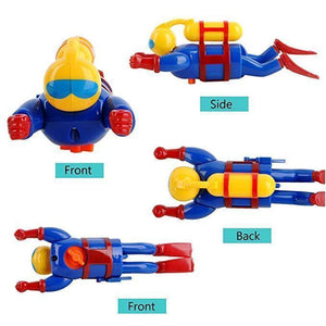 【BUY 2 GET 1 FREE】Baby Bath Toy Wind Up Diver(3 Pieces)