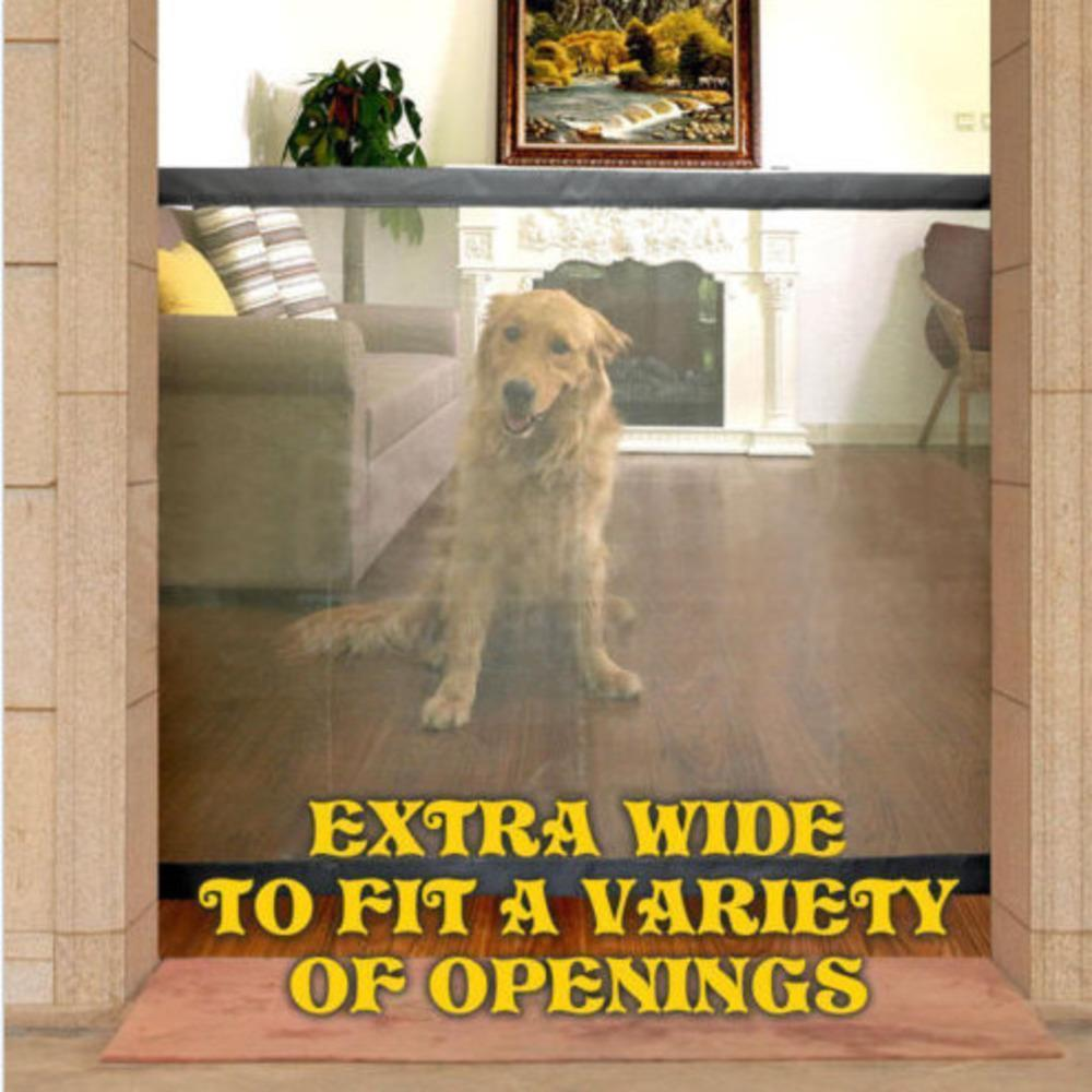 (Last day promotion)Portable Kids &Pets Safety Door Guard