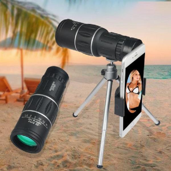 2018 New Waterproof High Definition Monocular Telescope Prism It can be used to take photos on smartphone