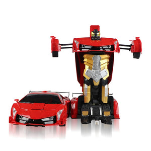 Electric Deform Robot Vehicle Remote Control Deformation Transform Robot Car Toy For Kids