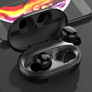 Newest High Quality Portable waterproof Bluetooth Wireless IPX7 3500mAh Earphones Fit In Ear For All Smart Phones