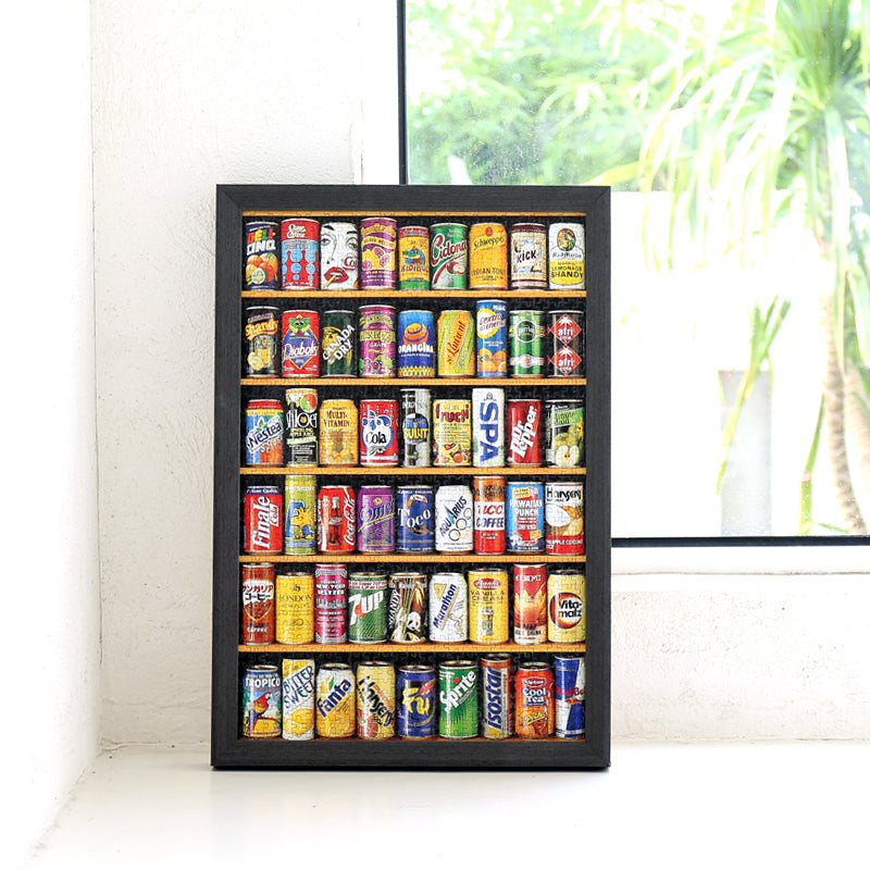 Mini soda cans 1000 pieces puzzle