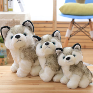 Child Toy Stuffed Dog Animal Husky Plush Husky Dog