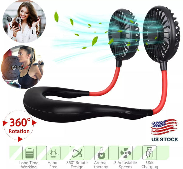 Summer 2020 Wearable Neck Fan - Free Shipping! Keep Cool Wherever You Are!