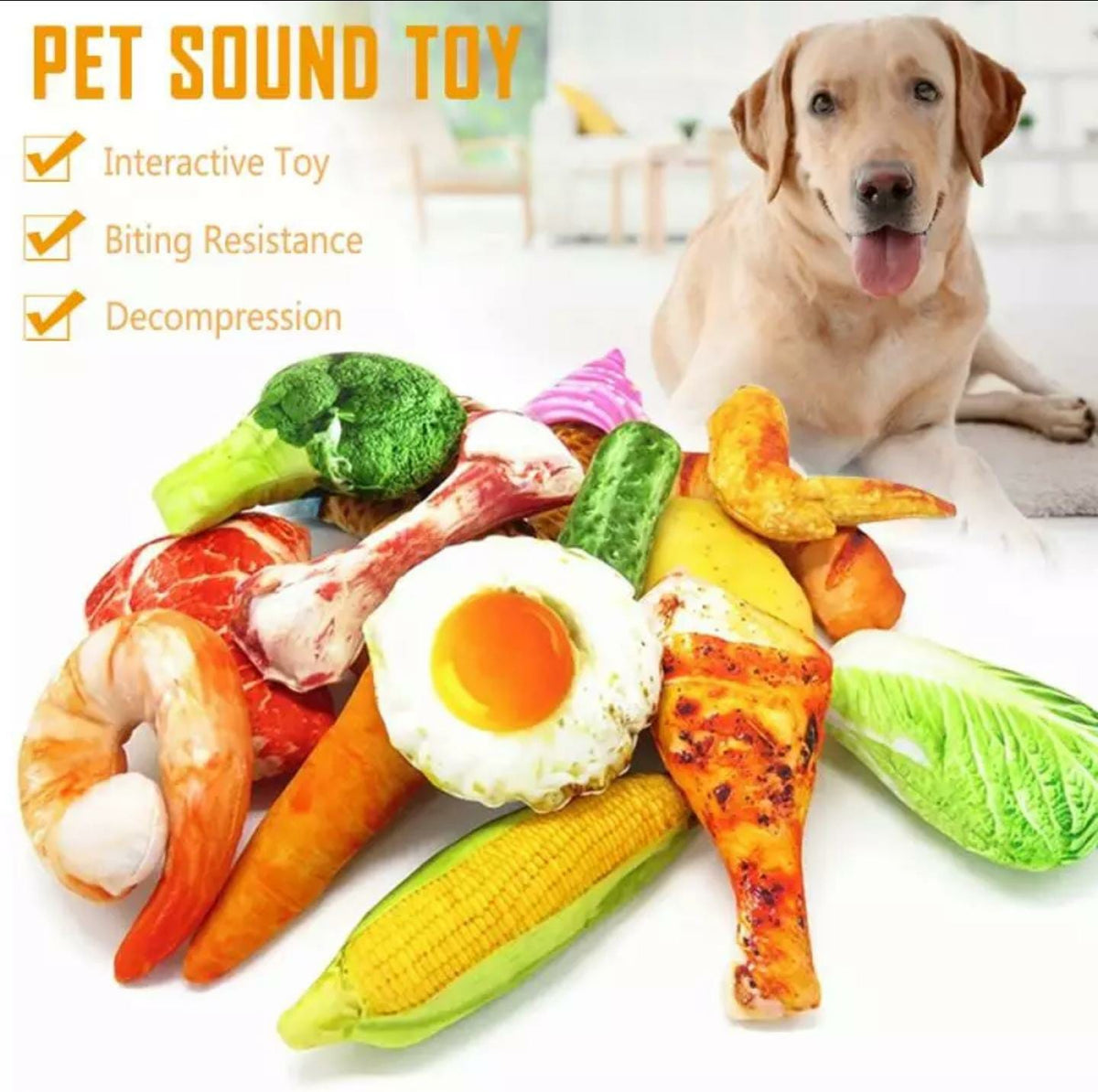 New 2020 Funny Food toy Simulation Pet Dog Free Shipping!