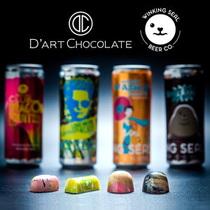 D'art Chocolate & Winking Seal Beer Co.™ Paring